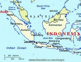 kart Indonesia og Aceh, 33kb